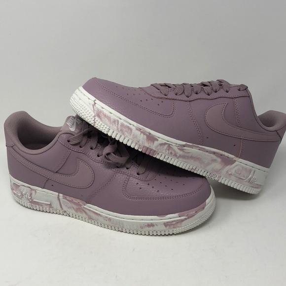 Air Force 7 Lv8 Lthr Purple Marble Shoe